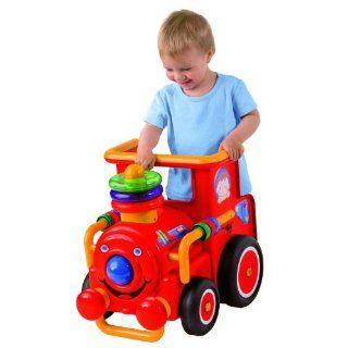 BIG Lauflernwagen Baby Lok mit Sound und Licht Spielzeug