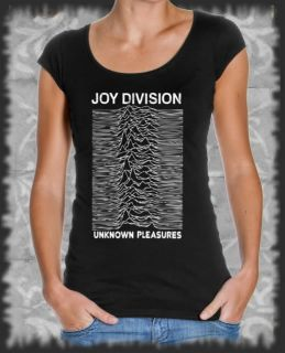 Longshirt Joy Division Unknown Pleasures  Rock Pop Punk Vintage