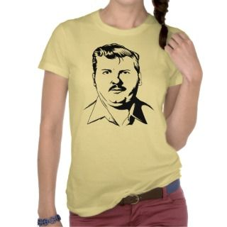 John Wayne Gacy retro serial killer portrait T shirt