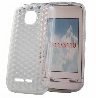 Silikon Case für Nokia Asha 311 / 3110 in transparent Silicon Skin