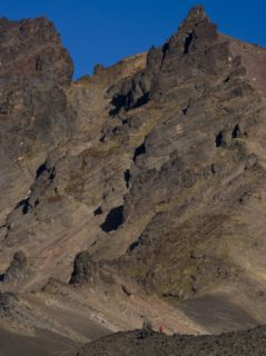 Ridges of Mount Zubchatka in Kronotosky Nature Reserve Photographic Print by Michael Melford