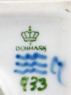 Royal Copenhagen Faun auf Säule mit Eidechse Figur Figure Figurine um