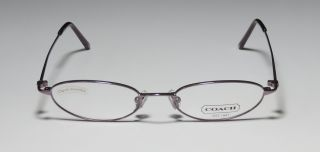 NEW COACH CASSIDY 301 50 17 135 LILAC/ORCHID METAL THIN EYEGLASS