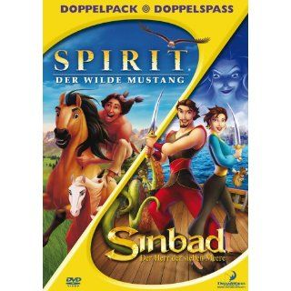 Spirit   Der wilde Mustang / Sinbad   Der Herr der sieben Meere 2 DVDs