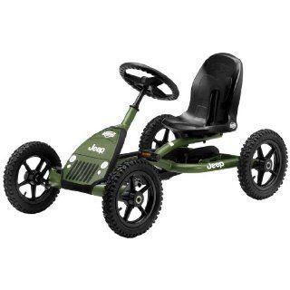 Bergtoys Jeep Junior Buddy Pedal Gokart Spielzeug