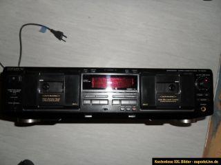 SONY Stereo Cassette Deck TC WE 435 Doppelcassettendeck Bastler