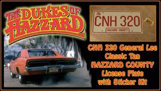 Dukes of Hazzard General Lee CNH 320 Plae 2011 Reissue