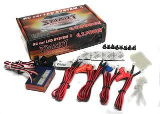 DE GT POWER RC Car Auto Smart 12 LED Light System Support PPM/ FM / 2