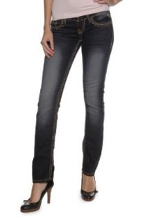 Antique Rivet Straight Leg Jeans JOSIE Bekleidung