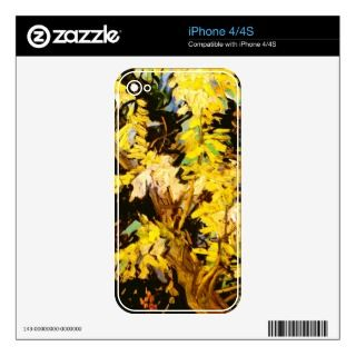 Van Gogh Blossoming Acacia Branches Skin For The iPhone 4S
