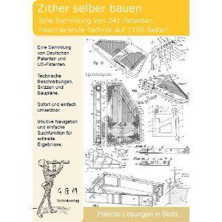 Zither selber bauen 241 Patente zeigen den Aufbau und die Technik