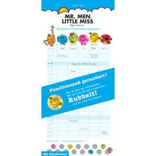 Mr Men & Little Miss Rubbel Familienplaner 2012 Heye