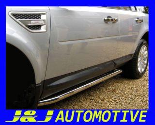 Land Rover Freelander 2 Trittbretter Schwellerrohre ø 76mm V2A
