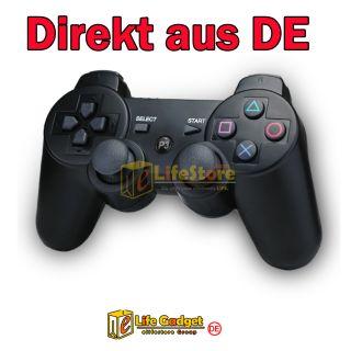 Funk Bluetooth Controller/Gamepad Wireless für Sony PS3 Schwarz
