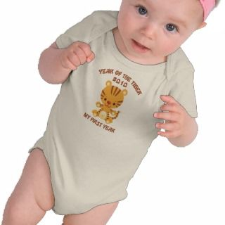 2010 Year of The Tiger Baby Shirt