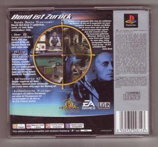 James Bond 007 Die Welt ist nicht genug (PS1)