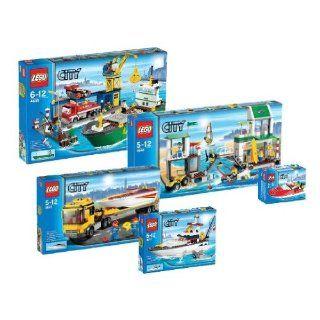LEGO City 4641 4642 4643 4644 4645 Hafen Mega Set