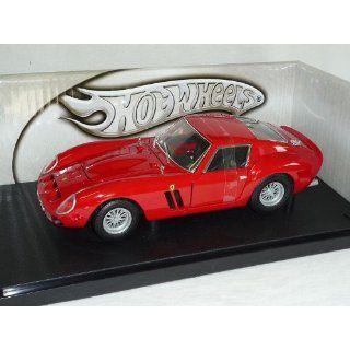 FERRARI 250 GTO 1962 COUPE ROT 1/18 MATTEL HOT WHEELS MODELLAUTO