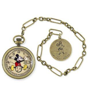 Ingersoll Disney Mickey Mouse Gold Herren Taschenuhr Disney by