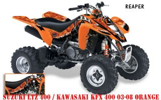 AMR DEKOR KIT SUZUKI LTZ 400 REAPER DECALS, DECOR B