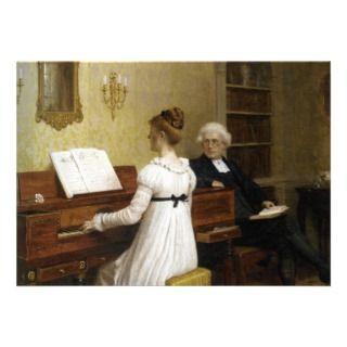 Piano Lessons Personalized Invites