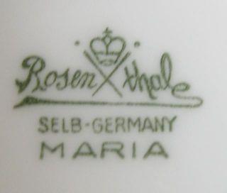 Rosenthal SELB Maria eine Schüssel ohne Deckel 20,5 cm