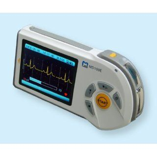 Handheld EKG   Gerät MD 100E LED Display inklusive Speicherkarte