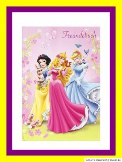 Freundebuch Disney PRINCESS Tagebuch Poesiealbum Schule Bücher