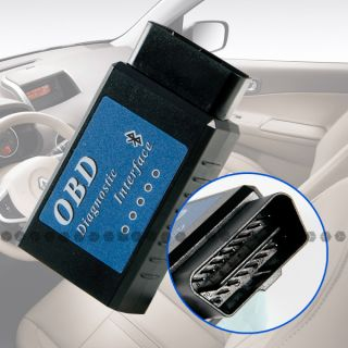 Bluetooth OBD2 OBD II Diagnose Interface Tool Software CAN ELM DTCS