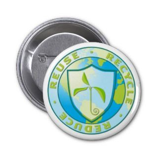 Recycle Reuse Reduce Design Pin