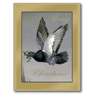 of Peace Merry Christmas cards and mugs Post Cards