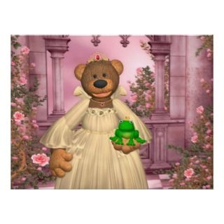 Surprise your kids with a funny Dinky Bears fairy tale poster.