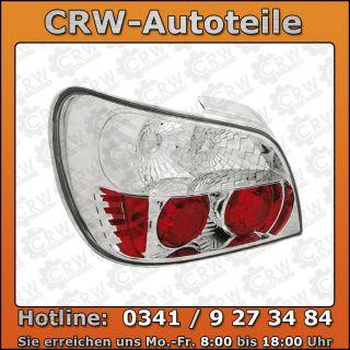 Rückleuchten Subaru Impreza WRX 01 02 crystal / Klarglas