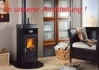 AN LAGER Kaminofen Super Junior 5 kw schwarz nero La Nordica DIN Plus