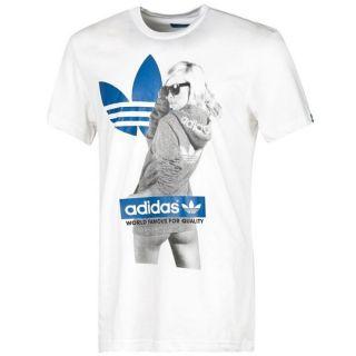 Adidas Originals Herren T Shirt weiß Girl G Tee Frau X34432