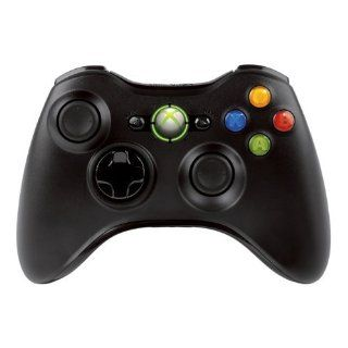 XBox 360 Slim Controller Wireless R Black / OEM Elektronik