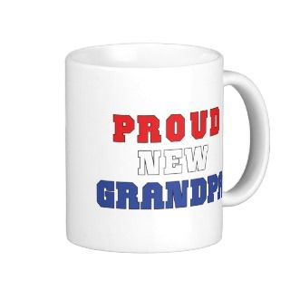 Proud New Grandpa Mug