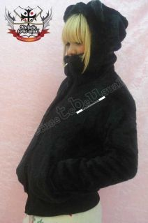 BEAR MASK TEDDY Ear Hoody PUNK PLUSH FUR Coat/Jacket