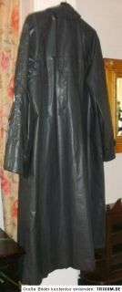 Regenmantel Vintage Latex Rubber Raincoat Herren Gummimantel 344