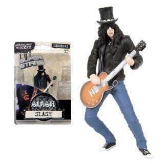 Super Stars Serie 1 Figur   Slash (Guns N Roses) ca. 10 cm