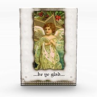 Vintage Tiny Christmas Angel Forever Card Award