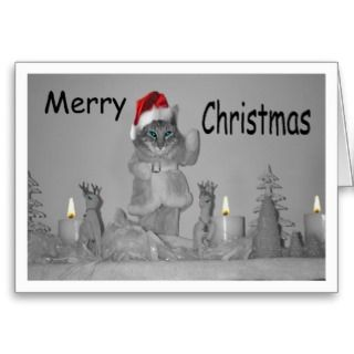 Santa Bob Merry Christmas Greeting Cards