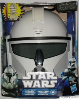 Hasbro Star Wars Clone Trooper elektronischer Helm/Maske