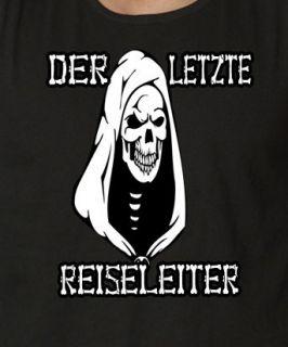 Muskel Shirt Punk Gothic Letzter Reiseleiter S XXL56