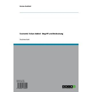 Economic Value Added   Begriff und Bedeutung eBook Nicolas Breitfeld