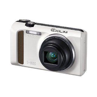 Casio EXILIM EX ZR400 Digitalkamera 3 Zoll weiß Kamera