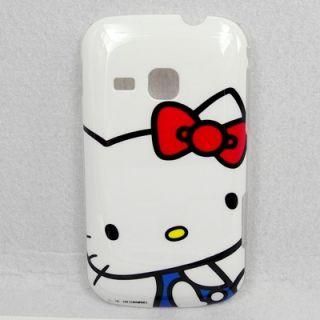 Samsung Galaxy Mini 2 S6500 Hello Kitty Case #C + Spro Screen