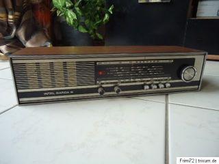 INTEL GARDA III Transistor Buffet Radio Holzoptik aus den 60er/70er