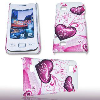 Handy Tasche Hard Case Cover Back Case für Samsung GT S5260 Star II