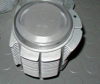 Porsche 356 Motor B C  Kolben Zylinder Alu 86mm NEU